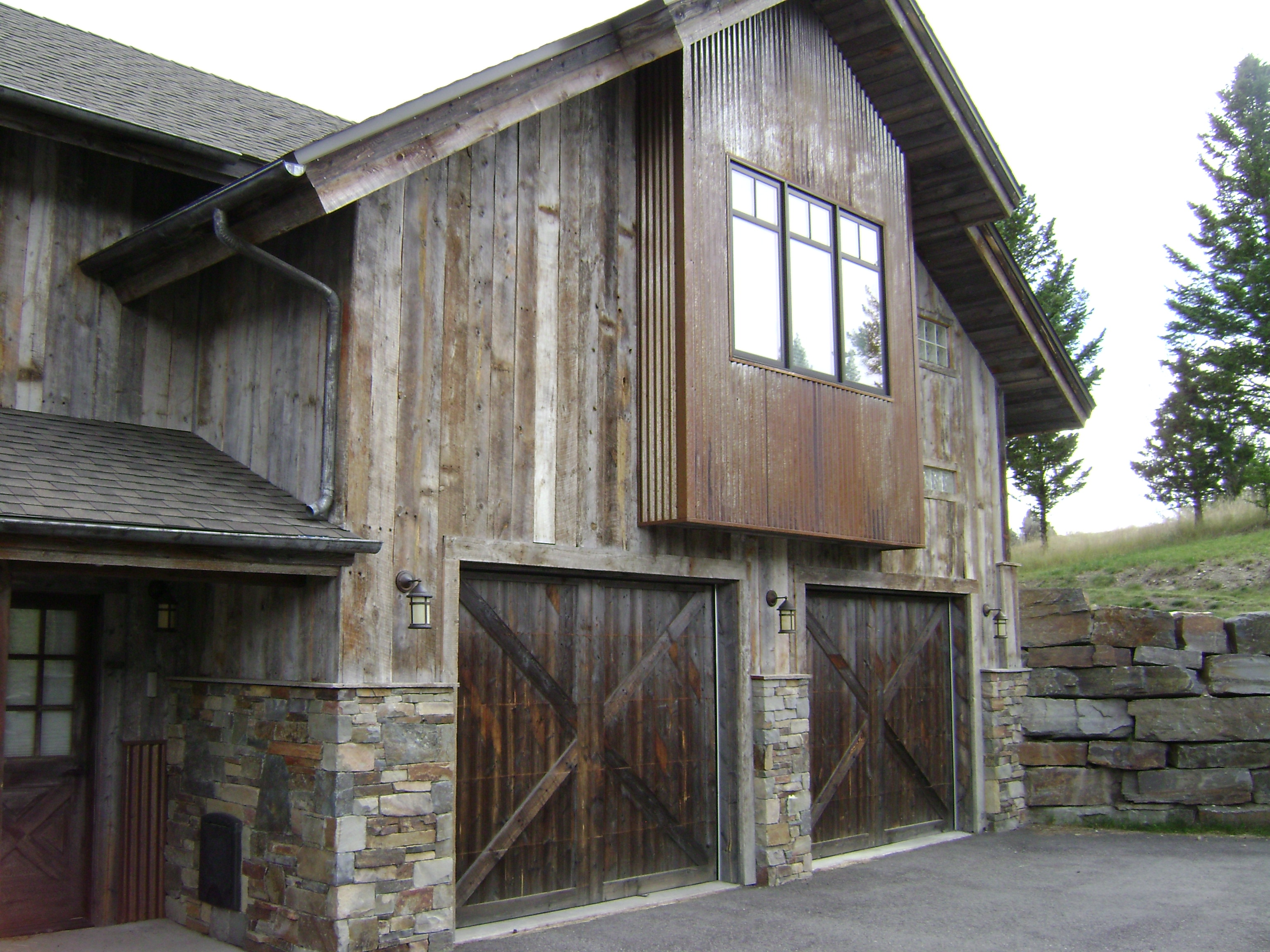 Siding idaho reclaimed lumber for Recycled wood siding